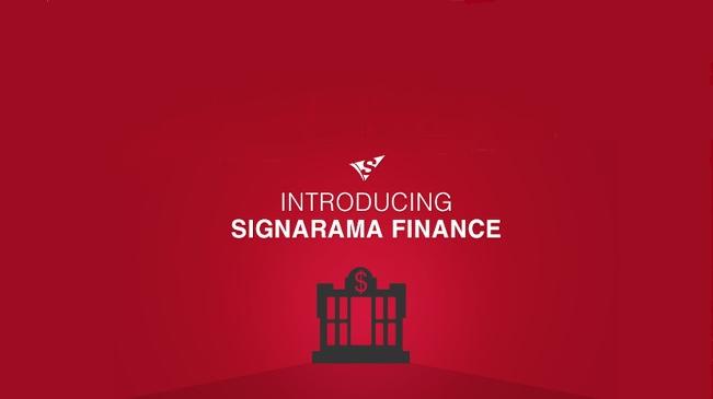 Signarama Finance Banner